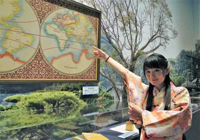 赤山靭負が小吉らに見せた世界地図も。