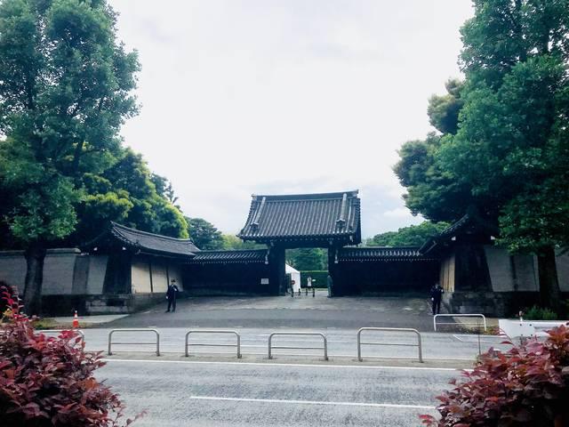 大久保が向かう予定だった赤坂仮御所(現迎賓館赤坂離宮)の東門