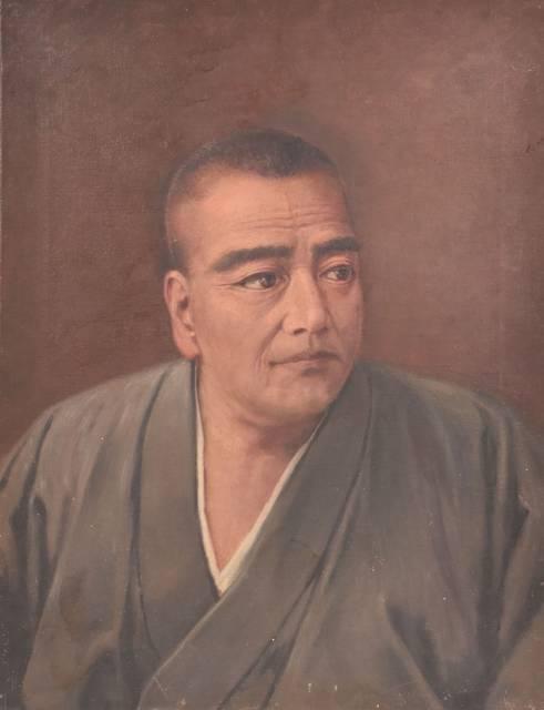 石川静正筆西郷隆盛肖像画