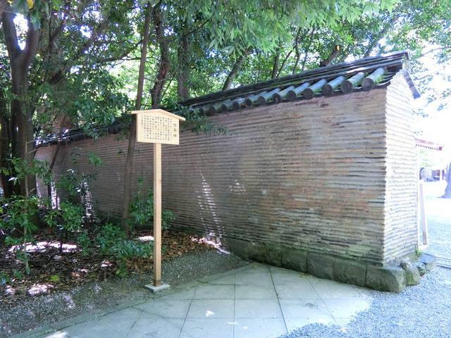 熱田神宮の「信長塀」