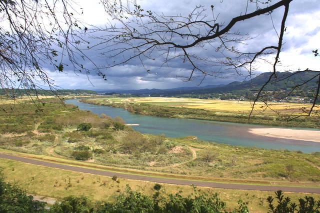 高館から見た北上川は絶景ポイント!かの有名な松尾芭蕉の...