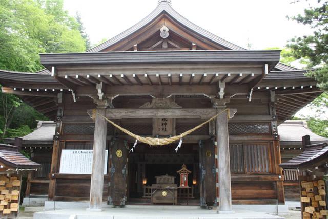 那須温泉神社 拝殿