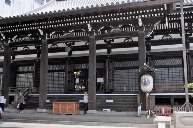 現在の本能寺本堂は1928年(昭和3年)に建てられたもの