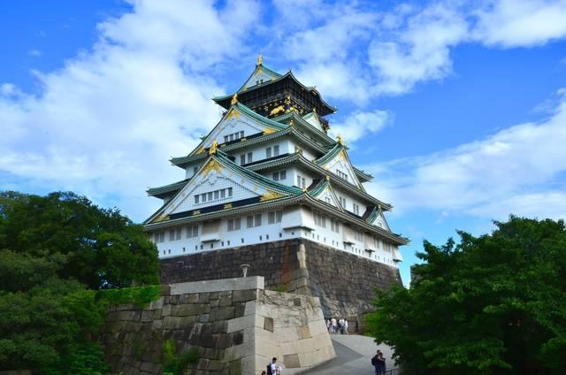 現在の大阪城