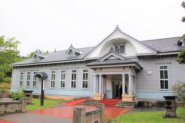 重要文化財に指定されている庁舎(移築復原)。刑務所管理...