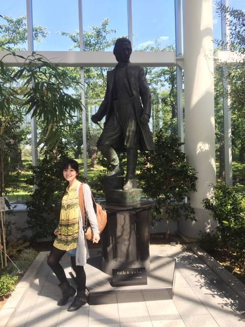 土方歳三銅像(五稜郭タワー)