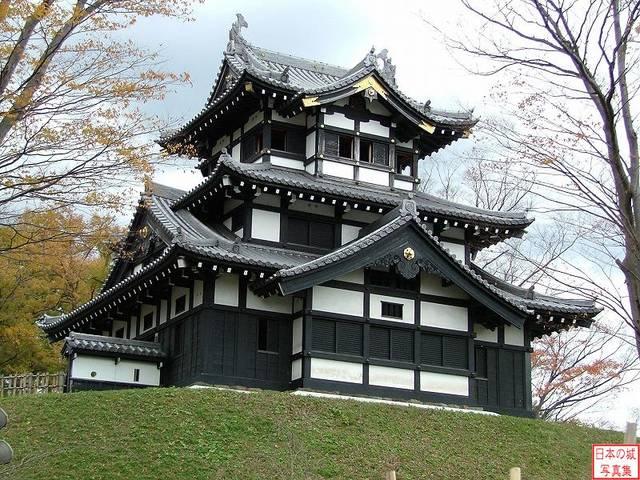 高田城三重櫓(新潟県上越市)