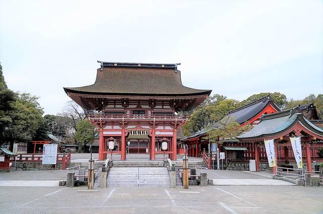信長と縁の深い津島神社(愛知県津島市)