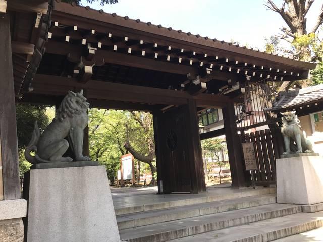 靖国神社南門