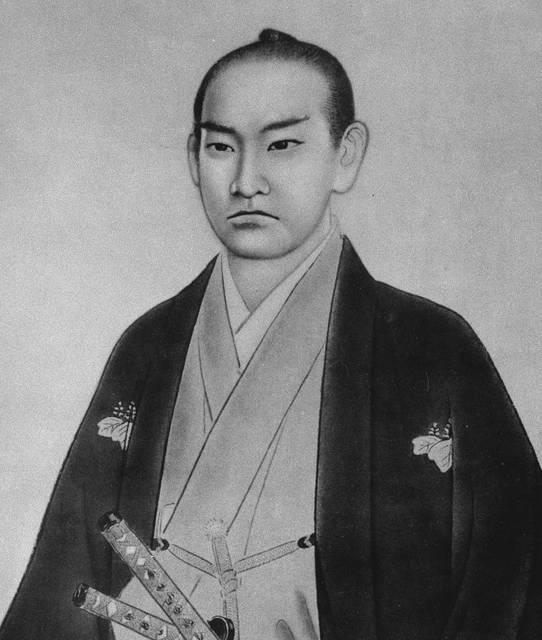 橋本左内肖像画(島田墨仙作)