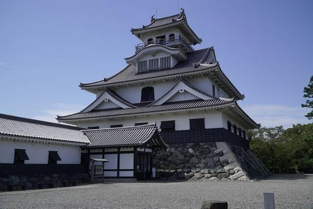 若き三成が仕えた秀吉の長浜城 (滋賀県長浜市公園町)