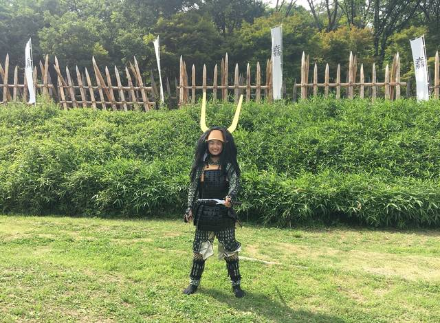石田三成が本陣を敷いたと伝わる標高198mの小山。 被...