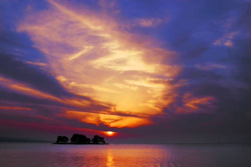 宍道湖と嫁が島