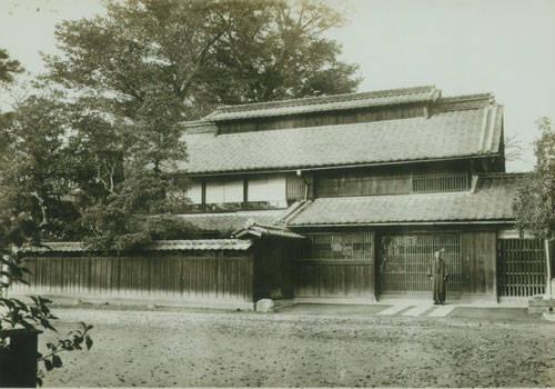 渋沢平九郎生家