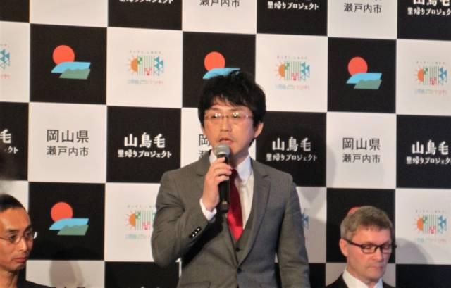 岡山県立博物館で15年間「山鳥毛」の手入れ・展示を担当...