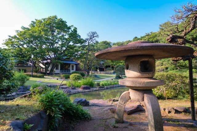 「美意識の高い細川家ならではの美しい庭園」