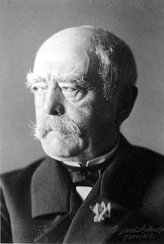 プロイセン王国の宰相だったオットー・フォン・ビスマルク