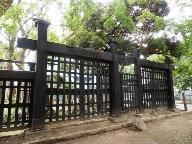 篠原は正面の黒門口攻めを担当したという。