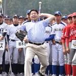 ヤクルト前監督の真中さん、選手600人激励 「上を目指し野球続けて」 矢板で中学野球開幕