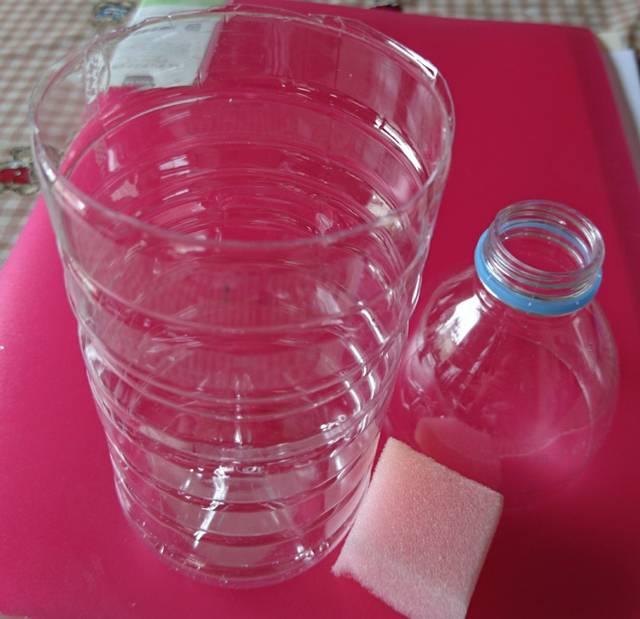 ペットボトルで水耕栽培