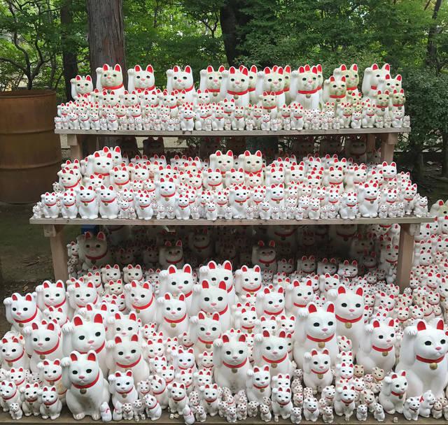 招き猫発祥の地、東京・豪徳寺で幸運を得よう!