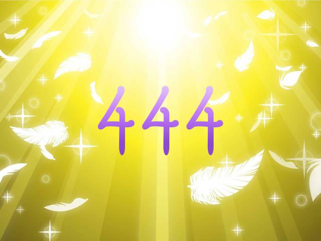 エンジェルナンバー444の意味-恋愛や復縁など天使からのメッセージ-