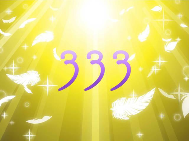 エンジェルナンバー333の意味-恋愛や復縁など天使からのメッセージ-