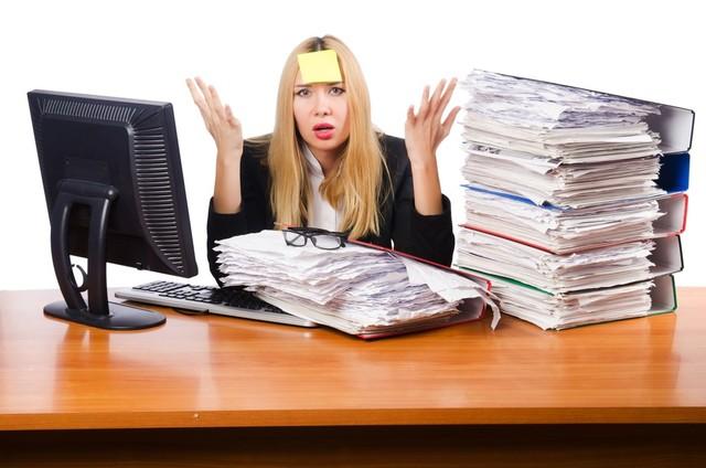 仕事の効率が悪い人の特徴