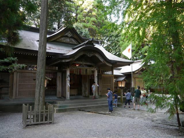 九州のパワースポット、高千穂神社