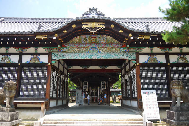 京都のパワースポット巡り 御香宮