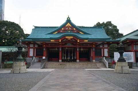 復縁できるパワースポット 日枝神社