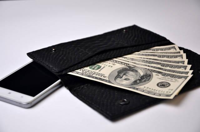 金運が上がる人の財布【財布の素材】