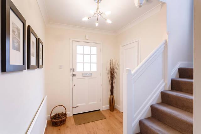 玄関と寝室はすっきりキレイに