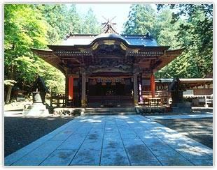 秩父三社の一つ寶登山神社