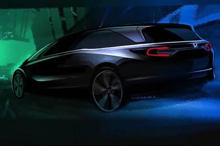 2017年北米国際自動車ショーで新型「ODYSSEY(オデッセイ)」を世界初公開