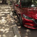 【LAオートショー】マツダのアテンザ(Mazda6)のマイナーチェンジ車両を公開