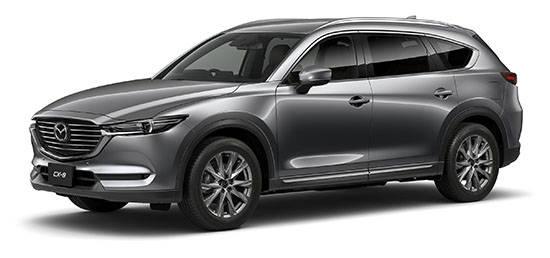 マツダの新型車「CX-8」の予約受注台数が7,362台と大人気!