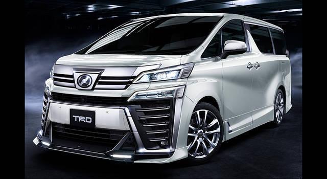 TRDから東京オートサロン2018の出展予定車両が続々と告知されました!ヴェルファイアやハイラックスも!