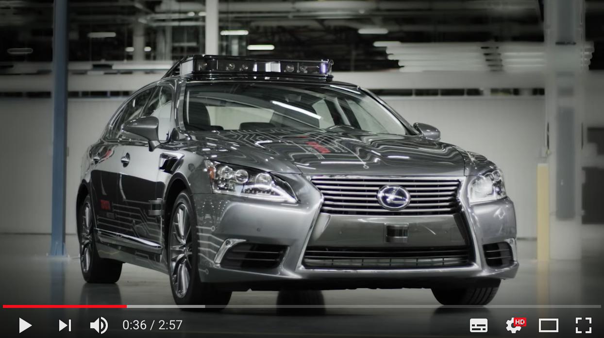 トヨタが次世代の自動運転自動車「Platform 3.0」を発表!2018年春にも実験車両の制作開始か!?