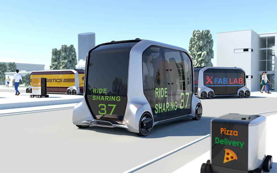 トヨタが次世代のEV自動車「e-Palette Concept」を発表!2020年に一部機能を実装した車両が登場か!?