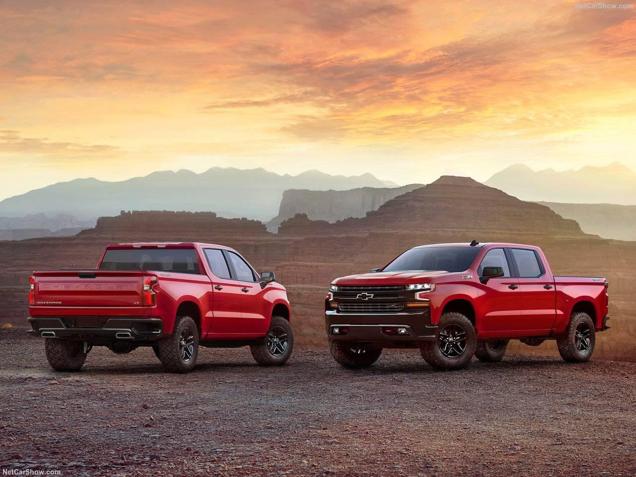 アメリカでは、大型ピックアップトラックが続々登場!Chevrolet SilveradoとFord Ranger がデトロイトモーターショーでお披露目!