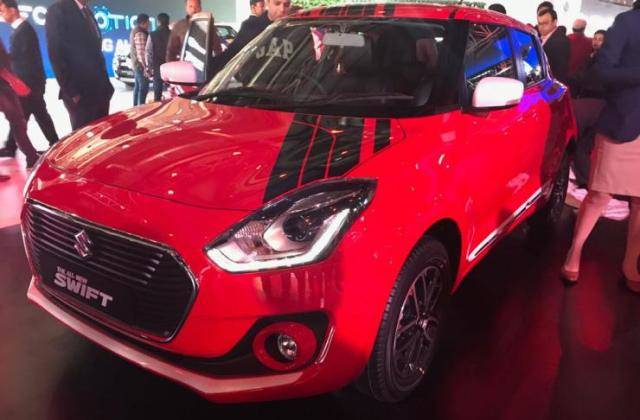 スズキスイフトディーゼル!燃費は28.4km/L!オートエキスポ2018(インド)でマルチ スズキが発表!