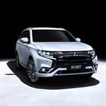 三菱自動車、ジュネーブで「アウトランダーPHEV」2019年モデルを世界初披露