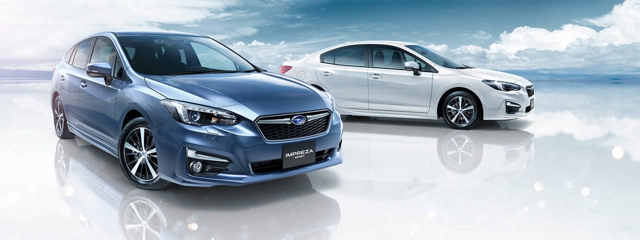 特別なスバルインプレッサS-styleが60周年記念車として誕生!価格は210.6万円から。燃費は18.2km/L(FF)。