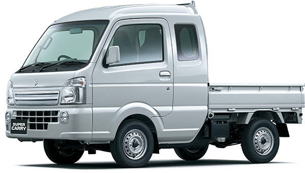 スズキの新型軽トラック「スーパーキャリイ」が発売された!