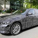 新型BMW 3シリーズのSPY SHOTが報じられて!フロントマスクがi8似へ???