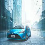 ヴィッツに歩行者も検知する「Toyota Safety Sense」を採用、特別仕様車も設定