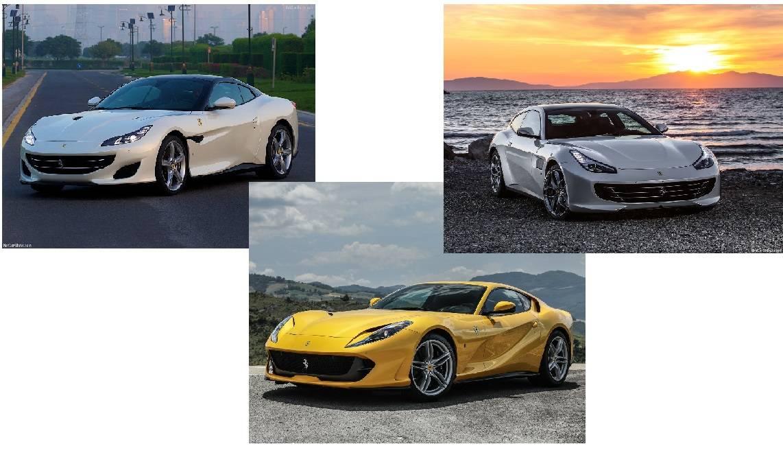 フェラーリから続々新モデルが登場しそうです。しかも3連発!!!各モデルの概要を調査