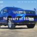 トヨタがハイラックス50周年を記念して特設サイトを開設!歴史を振り返り新型までの軌跡を紹介