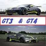 アストンマーティンから2つのvantageモデルが発動!GT3&GT4。これらを調査してみます!